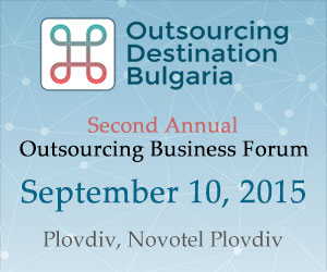 Bulgarian President Rosen Plevneliev opens the National Outsourcing conference in Plovdiv