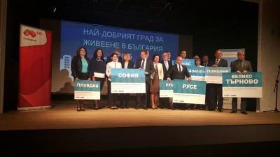 """Plovdiv è stata nominata  """"Città del business in Bulgaria per il 2015"""""""